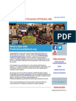 PublicSchoolOptions.org January 2014 Newsletter
