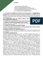 FUNDAÇÃO UNIVERSIDADE DE BRASÍLIA (FUB) Resultado final - 12/2013