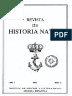 Revista de Historia Naval Nº3. Año 1983