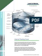 Internal Floating roof vessel
