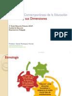 Presentacion Del Tema. Ptt. Concepto de Educacion