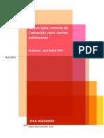 Novedades cotización autónomos 2014 - IFRA ASESORES