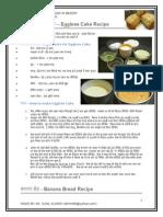 Bakery Hindi Recipe Notes