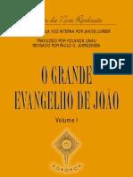 O Grande Evangelho de Joao01