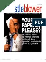 Whistleblower April 2009