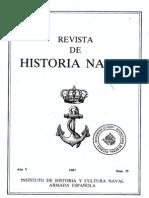Revista de Historia Naval Nº19. Año 1987