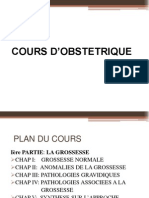 COURS D'OBSTETRIQUE DIAPO