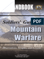 12-13 Soldier's Guide to Mountain Warfare
