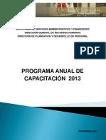 Programa Anual de Capacitación 2013 Web-1