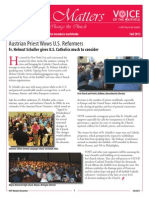 Newsletter Fall 2013