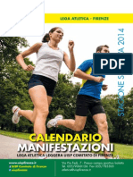 Calendario Gare UISP 2014 Firenze