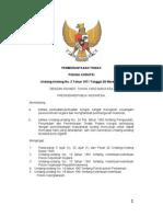 UU031971 Pemberantasan Tindak Pidana Korupsi