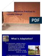 Climate Change & Adaptation Orissa