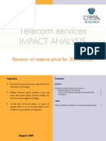 3G- Revision in Reserve Price