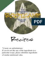 The Overnight Diet Bootcamp Recipes - Caroline Apovian, M.D.
