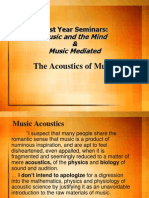 FY Seminar Acoustics