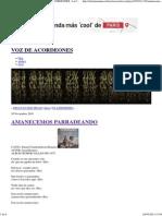 AMANECEMOS PARRADEANDO « VOZ DE ACORDEONES - La Coctelera