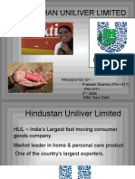Hindustan Uniliver Limited Ppt