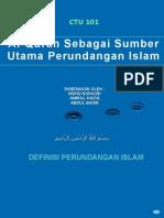 Al-quran Sbg Sumber Perundangan Islam