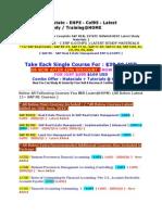Sap Real Estate Erp 6.0 Ehp5 Latest Study Materials for Sap Real Estate Sap Re Fx Sap Fi Gl Sap Fi AP Sap Fi Aa Sap Lum Ac Co Pm Ps Dms