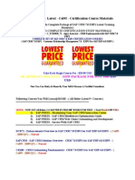 SAP CRM 7.0 EhP1 Latest Col95 Certification Course Materials for SAP Exam Code C_TCRM20_71