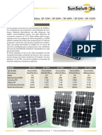 Paneles Solares SunSolutions