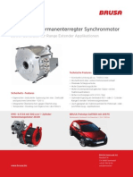 A 30kW permanently excited synchronous motor for Electrical Vehicle applications
