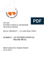 Itf 223 Final Project a Case Solution