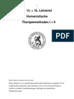 humanistische Therapiemethoden