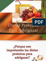 Dietas Proteicas Para Adelgazar