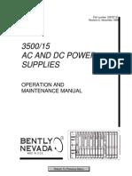 3500 15 Power Supply 129767-01 rev E