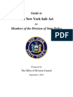 NYSP Safe Act Field Guide