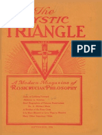 AMORC - The Mystic Triangle, September 1926