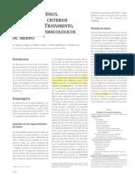 Anemia ferropénica. Etiopatogenia, criterios diagnósticos. Tratamiento, preparados farmacológicos