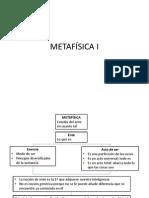 METAFÍSICA I