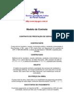 Modelo de Contrato Para Servicos