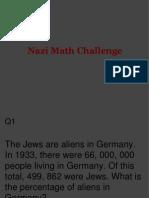 nazi math challenge