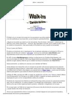 Walk-Ins - Cambio de Alma