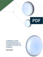 Comunicacion Interpersonal-no Verval
