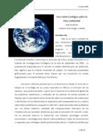 Una Vision Ecologica de La Etica Ambiental