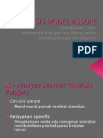 Analisis Model Assure-black punyer