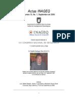 Congreso Geoquimica Mexico