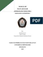 EKOLOGI GASTROPODA-Erika Kurniawati S-Diponegoro University