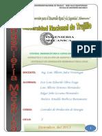 PROYECTO DE LA CENTRAL HIDROELECTRICA CAÑON DEL PATO