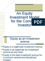 An Equity Investment Model