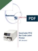 Intermec PF4i User Guide