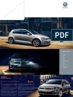VW Golf 7 Brochure
