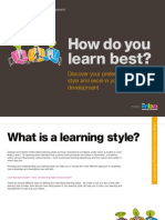 Identify Your Learning Style