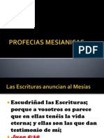 PROFECIAS MESIANICAS