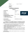 Descripcion Asignatura Proyecto i 2013 Rev 0